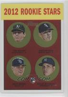 Tom Milone, Addison Reed, Matt Moore, Dellin Betances /1963