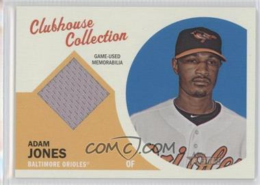2012 Topps Heritage Clubhouse Collection Relic #CCR-AJ - Adam Jones