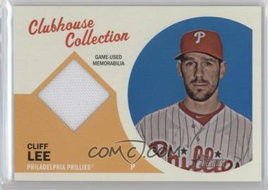 2012 Topps Heritage Clubhouse Collection Relic #CCR-CL - Cliff Lee