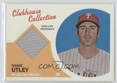 2012 Topps Heritage Clubhouse Collection Relic #CCR-CU - Chase Utley