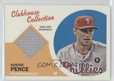 2012 Topps Heritage Clubhouse Collection Relic #CCR-HP - Hunter Pence