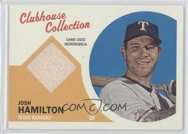 2012 Topps Heritage Clubhouse Collection Relic #CCR-JH - Josh Hamilton