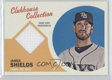 2012 Topps Heritage Clubhouse Collection Relic #CCR-JS - James Shields
