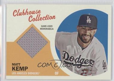 2012 Topps Heritage Clubhouse Collection Relic #CCR-MK - Matt Kemp