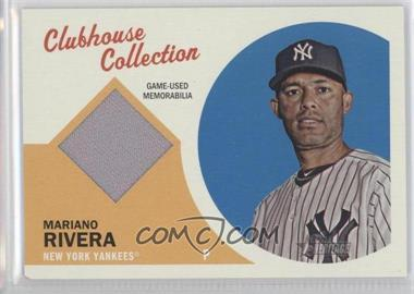 2012 Topps Heritage Clubhouse Collection Relic #CCR-MR - Mariano Rivera