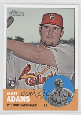 2012 Topps Heritage High Numbers #H638 - Matt Adams
