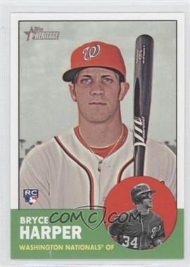 2012 Topps Heritage High Numbers #H650 - Bryce Harper