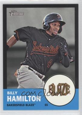 2012 Topps Heritage Minor League Edition Black Border #10 - Billy Hamilton /96