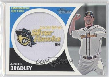 2012 Topps Heritage Minor League Edition Manufactured Hat Logo Patch #MLL-AB - Archie Bradley