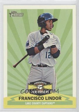 2012 Topps Heritage Minor League Edition Prospect Performers #PPFL - Francisco Lindor