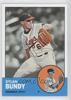 2012 Topps Heritage Minor League Edition #2 - Dylan Bundy