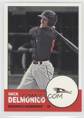 2012 Topps Heritage Minor League Edition #55 - Nick Delmonico