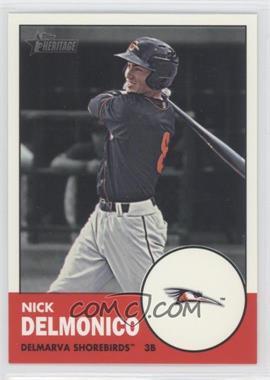 2012 Topps Heritage Minor League Edition #55 - Nick Delmonico