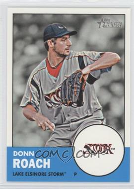 2012 Topps Heritage Minor League Edition #76 - Donn Roach