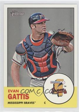 2012 Topps Heritage Minor League Edition #99 - Evan Gattis