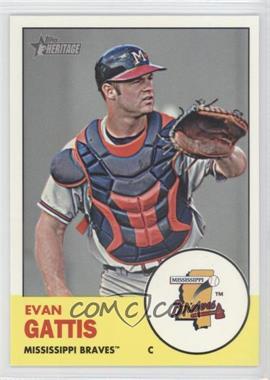 2012 Topps Heritage Minor League Edition #99 - Evan Gattis