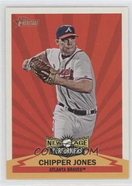 2012 Topps Heritage New Age Performers #NAP CJ - Chipper Jones
