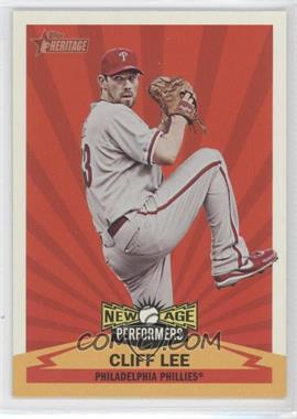 2012 Topps Heritage New Age Performers #NAP CL - Cliff Lee