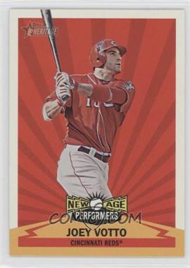2012 Topps Heritage New Age Performers #NAP JV - Joey Votto