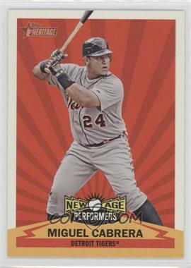 2012 Topps Heritage New Age Performers #NAP MC - Miguel Cabrera