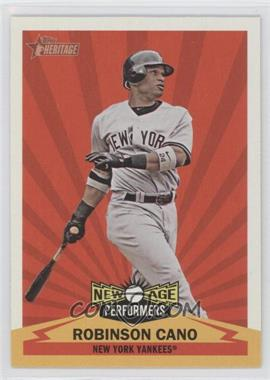 2012 Topps Heritage New Age Performers #NAP RC - Robinson Cano