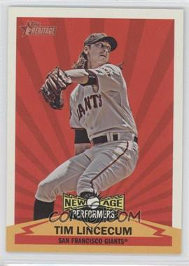 2012 Topps Heritage New Age Performers #NAP TL - Tim Lincecum