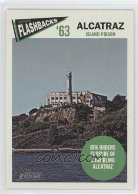 2012 Topps Heritage News Flashbacks #NF-A - Alcatraz