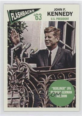 2012 Topps Heritage News Flashbacks #NF-JKE - John F. Kennedy