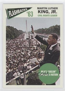 2012 Topps Heritage News Flashbacks #NF-MK - Martin Luther King Jr.