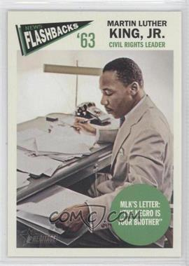 2012 Topps Heritage News Flashbacks #NF-MKI - Martin Luther King Jr.