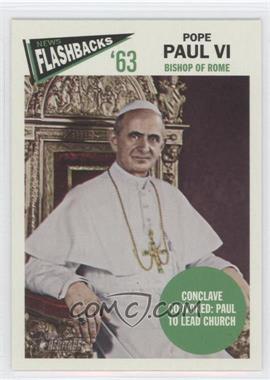2012 Topps Heritage News Flashbacks #NF-PP - Pope Paul VI