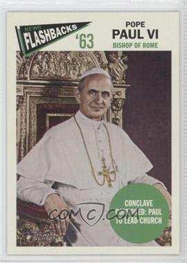 2012 Topps Heritage News Flashbacks #NF-PP - Pope Paul VI