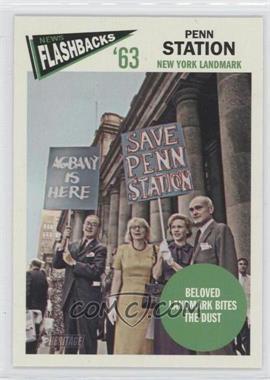 2012 Topps Heritage News Flashbacks #NF-PS - Penn Station