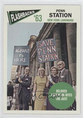 2012 Topps Heritage News Flashbacks #NF-PS - Penn Station