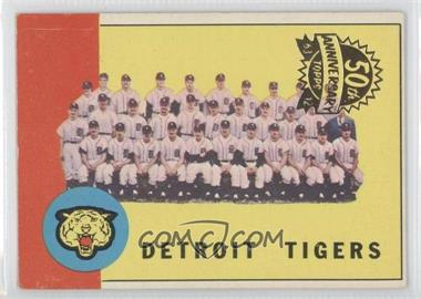 2012 Topps Heritage Originals 1963 Buybacks #552 - Detroit Tigers Team