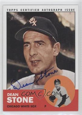 2012 Topps Heritage Real One Certified Autographs [Autographed] #ROA-DST - Dean Stone