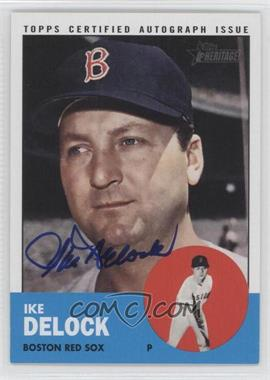 2012 Topps Heritage Real One Certified Autographs [Autographed] #ROA-ID - Ike Delock