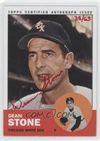 Dean Stone /63