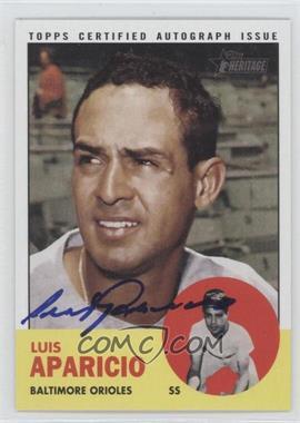 2012 Topps Heritage Real One Certified Autographs #ROA-LA - Luis Aparicio