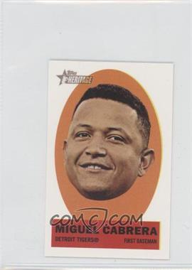 2012 Topps Heritage Stick-Ons #1 - Miguel Cabrera