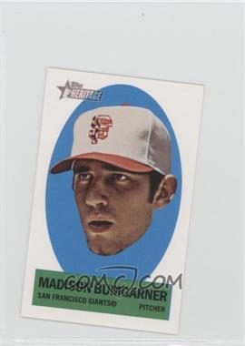 2012 Topps Heritage Stick-Ons #10 - Madison Bumgarner