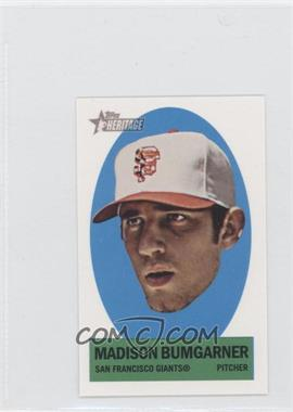 2012 Topps Heritage Stick-Ons #10 - Madison Bumgarner