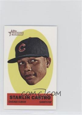 2012 Topps Heritage Stick-Ons #12 - Starlin Castro