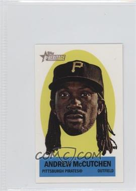 2012 Topps Heritage Stick-Ons #16 - Andrew McCutchen