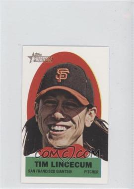 2012 Topps Heritage Stick-Ons #18 - Tim Lincecum