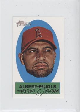 2012 Topps Heritage Stick-Ons #20 - Albert Pujols