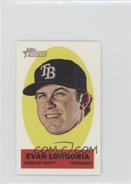 2012 Topps Heritage Stick-Ons #22 - Evan Longoria