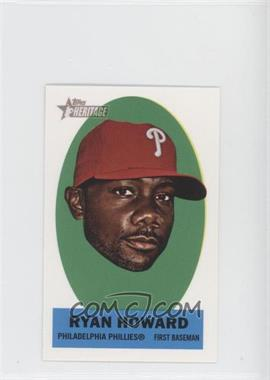 2012 Topps Heritage Stick-Ons #27 - Ryan Howard