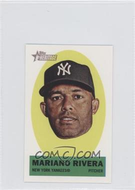 2012 Topps Heritage Stick-Ons #29 - Mariano Rivera