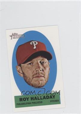 2012 Topps Heritage Stick-Ons #30 - Roy Halladay